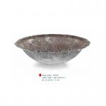 item code : 18358 color code : 304 /109-111 Ø: 25 cm H: 7.5 cm