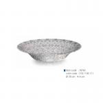 item code : 18765 color code : 310 / 106-111 Ø: 30 cm H: 6 cm