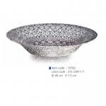 item code : 18766 color code : 310 /249-111 Ø: 40 cm H: 7.5 cm