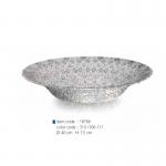 item code : 18766 color code : 310 /106-111 Ø: 40 cm H: 7.5 cm