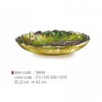 item code : 18694 color code : 315 /105-358-110-R Ø: 22 cm H: 4.5 cm