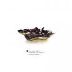 item code : 18529 color code : 301 /109-110 Ø: 21 cm H: 4 cm