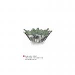 item code : 18265 color code : 303 /358-111-R Ø: 18 cm H: 6 cm