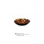 item code : 19632 color code : 81/109-117-110-109 Ø: 20 cm H: 5.2 cm