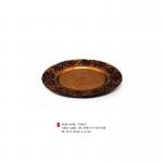 item code : 19637 color code : 81/109-117-110-109 Ø: 33.5 cm H: 2.4 cm