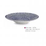 item code : 18754 color code : 310 /102-111 Ø: 30 cm H: 5 cm