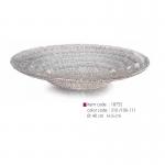 item code : 18755 color code : 310 /106-111 Ø: 40 cm H: 6 cm